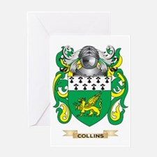 Collins Coat of Arms Greeting Card