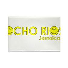 Ocho Rios, Jamaica Rectangle Magnet