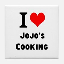 Personalised I Heart Love Custom Name's Cooking Ti