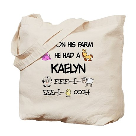 Kaelyn had a Farm Tote Bag