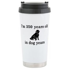 50 birthday dog years l Travel Mug