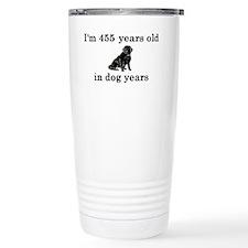 65 birthday dog years l Travel Mug