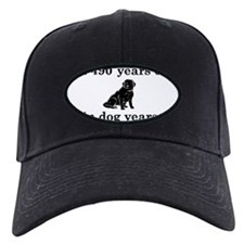 70 birthday dog years lab 2 Baseball Hat