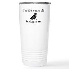60 birthday dog years l Travel Mug