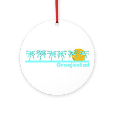 Oranjestad, Aruba Ornament (Round)