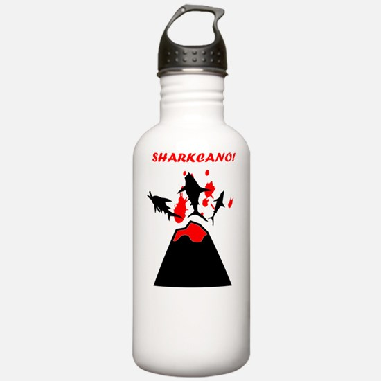 SHARKCANO! Water Bottle