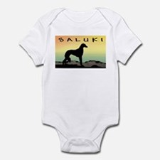 Saluki Dog Desert Infant Bodysuit