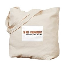 Schizophrenic Tote Bag