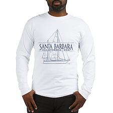 Santa Barbara - Long Sleeve T-Shirt