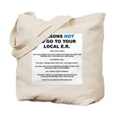 Emergency rn Canvas Bags