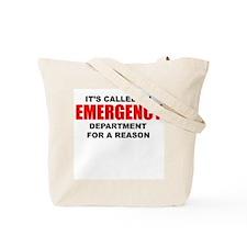 Emergency Department Tote Bag