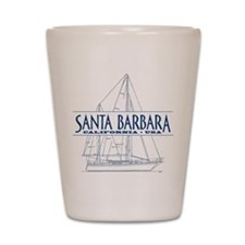 Santa Barbara - Shot Glass