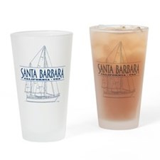 Santa Barbara - Drinking Glass
