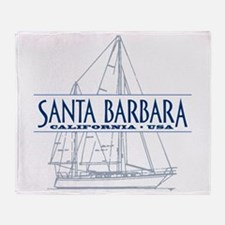 Santa Barbara - Throw Blanket