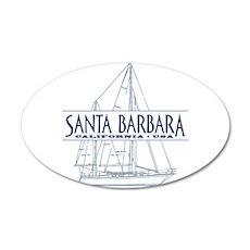 Santa Barbara - Wall Decal