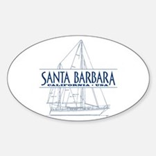 Santa Barbara - Decal