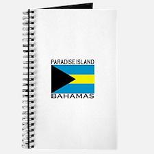 Paradise Island, Bahamas Flag Journal