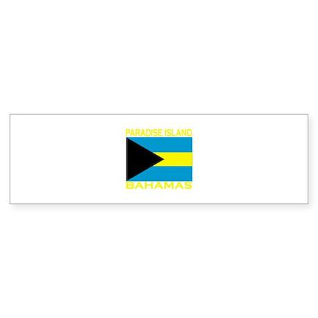 Paradise Island, Bahamas Bumper Sticker