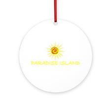 Paradise Island, Bahamas Ornament (Round)