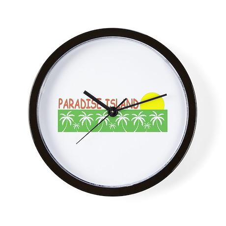 Paradise Island, Bahamas Wall Clock