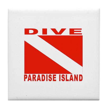 Dive Paradise Island, Bahamas Tile Coaster