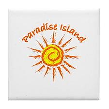 Paradise Island, Bahamas Tile Coaster