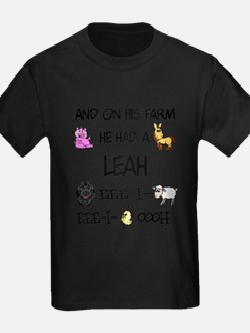 Leah had a Farm T