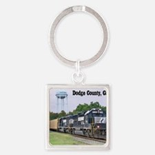 Eastman, Georgia Square Keychain