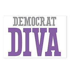 Democrat DIVA Postcards (Package of 8)