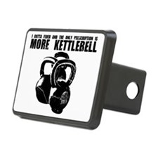 MORE KETTLEBELL BLACK Hitch Cover