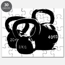 just kettlebell black Puzzle