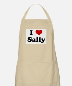 I Love Sally BBQ Apron