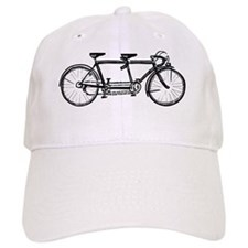 Tandem Bicycle Baseball Baseball Cap