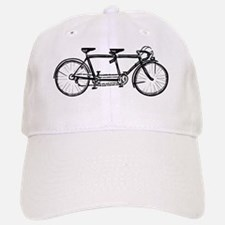 Tandem Bicycle Baseball Baseball Cap