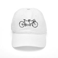 Tandem Bicycle Baseball Cap