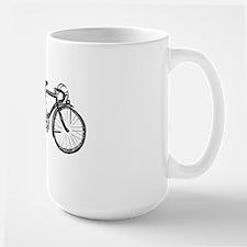 Tandem Bicycle Large Mug