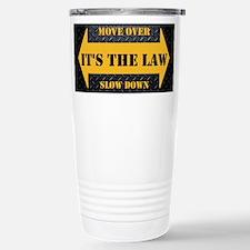Move Over Safety Plate Travel Mug