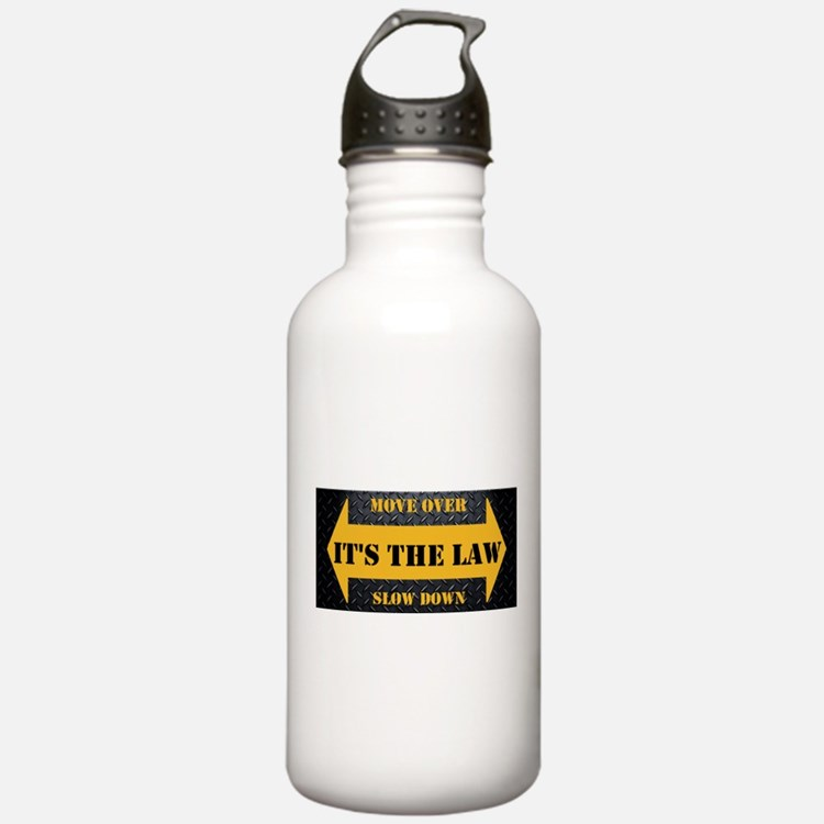 Move Over Safety Plate Water Bottle