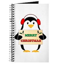 Merry Christmas Penguin Journal