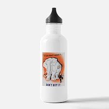 Consumerism Water Bottle