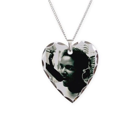 DJ CLASS PICTURE Necklace Heart Charm