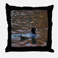 Groovy Coot Throw Pillow