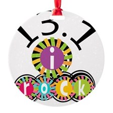 13.1 I Rock Ornament
