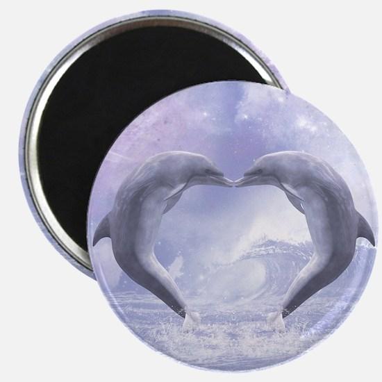 Dolphins Kisses Magnet