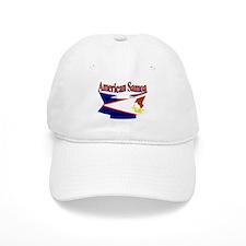 American Samoa flag ribbon Baseball Cap