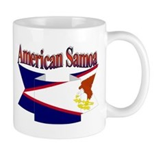 American Samoa flag ribbon Mug