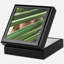 Green Eyes Keepsake Box