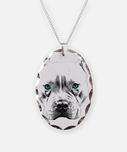 Pit Bull Wings Necklace