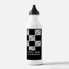 hhjj journal blush bru Water Bottle
