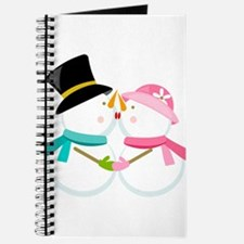 Kissing Snowmen Journal